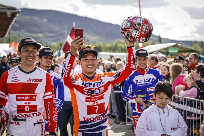 Toni Bou and Takahisa Fujinami participate in the Trial des Nations this weekend