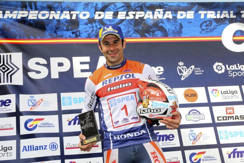 Toni Bou se proclama Campeón de España de Trial 2019 en Sigüenza