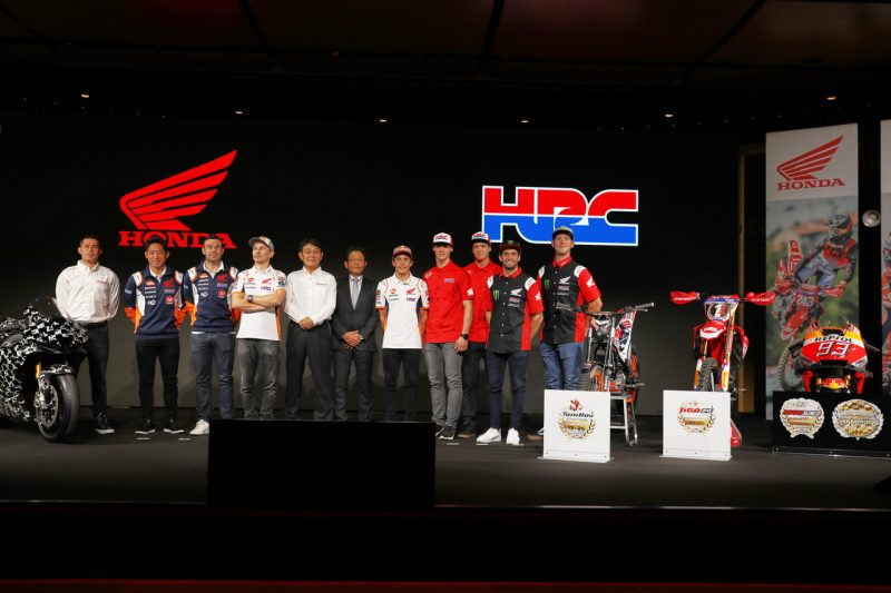 The Repsol Honda Team Trial for 2020 is officially revealed at EICMA