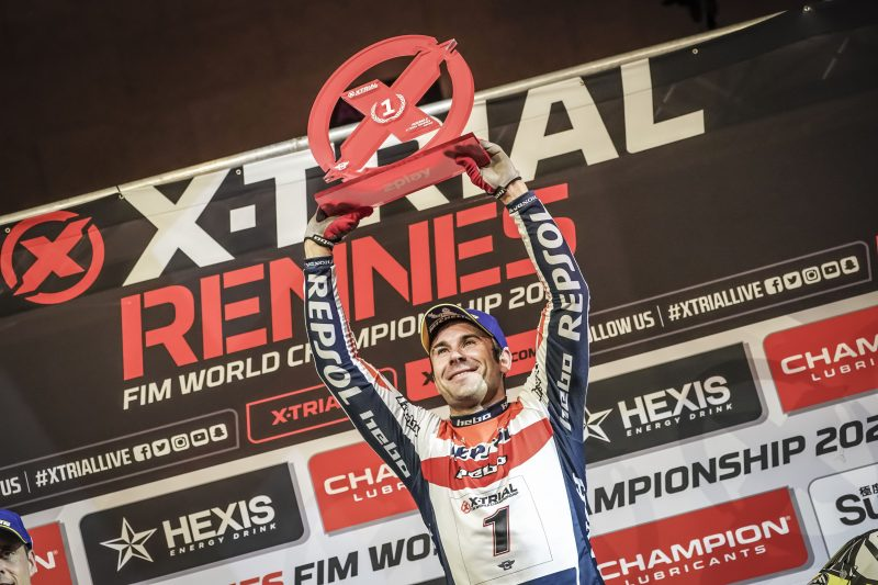Second win of the X-Trial season for Toni Bou