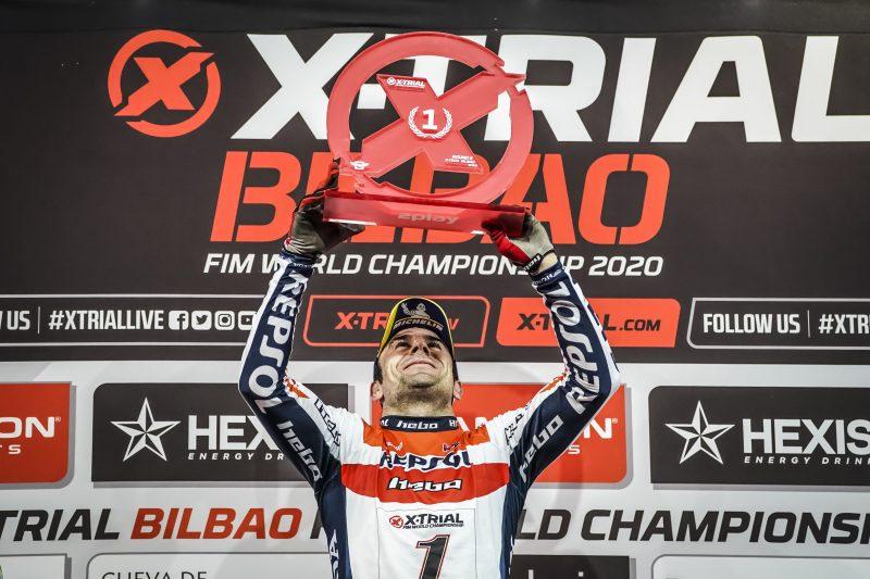 Quinta victoria de la temporada X-Trial para Toni Bou en Bilbao