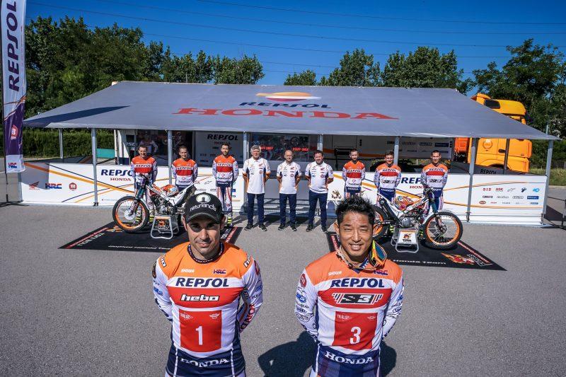 The Repsol Honda Team ready for 2020
