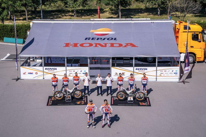 El Repsol Honda Team de Trial, preparado para iniciar la temporada más extraña