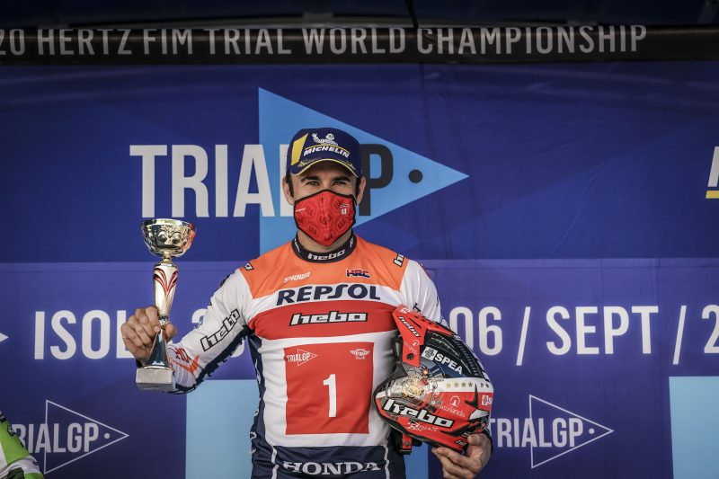 Toni Bou gets the TrialGP World Championship underway at the top