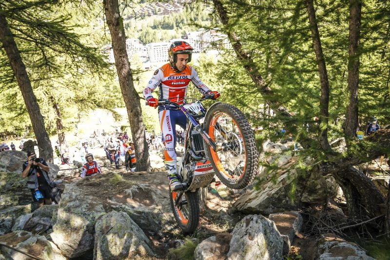 Toni Bou, leader of the World Championship after the French GP