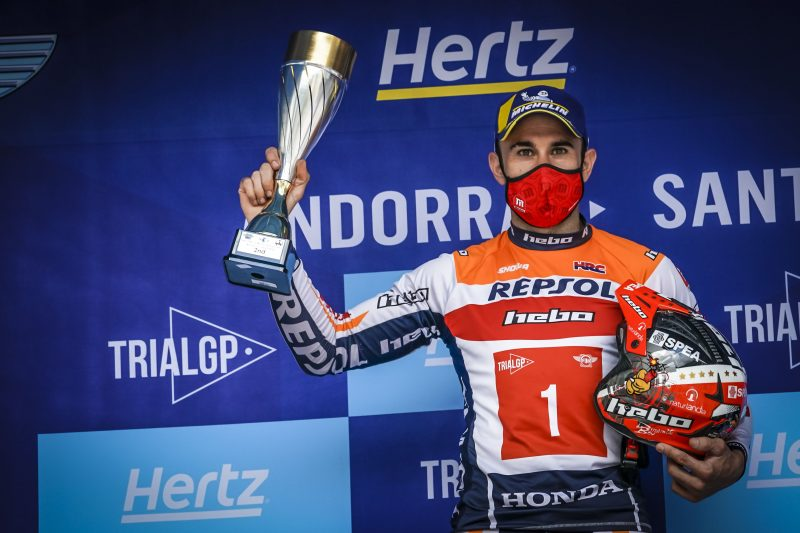 Second place for Toni Bou in a tight Andorran GP