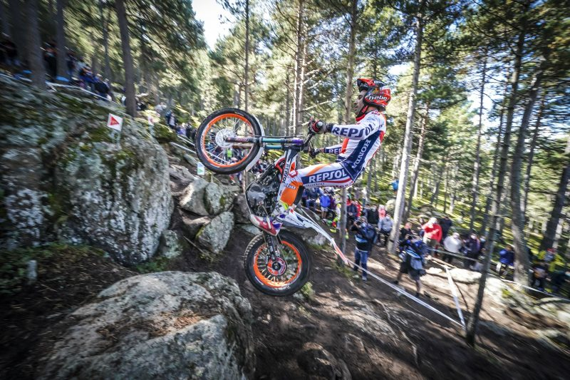Bou claims victory in Andorra, the fourth of the season