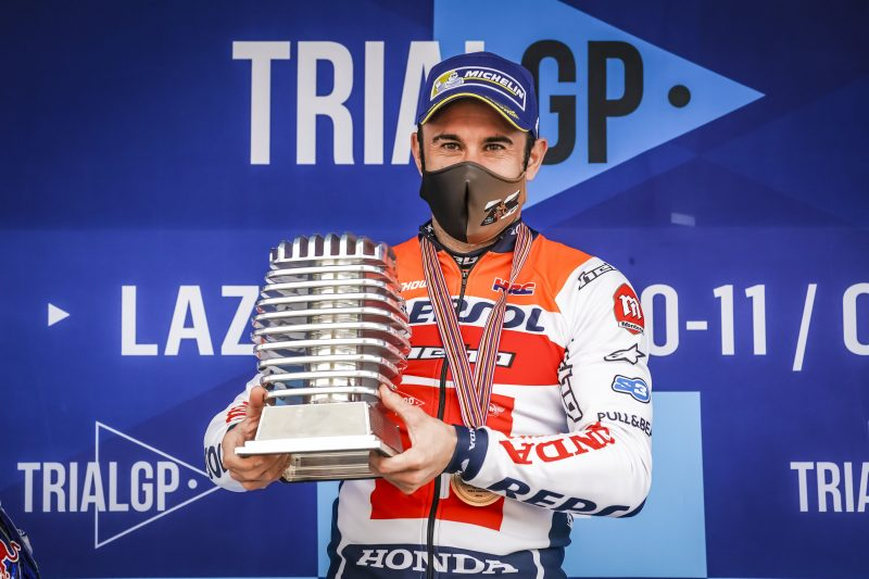 Toni Bou rounds off the 2020 World Championship with a sixth season victory