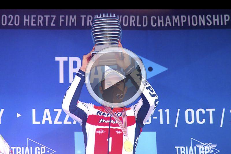 Video: 2020 as viewed by Repsol Honda Trial Team