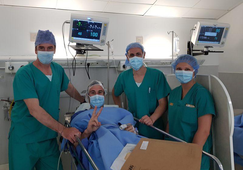 Toni Bou undergoes fibula operation