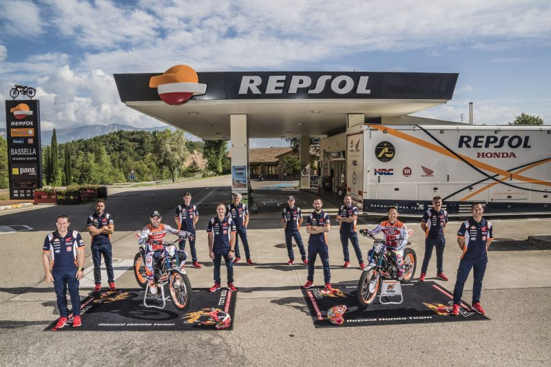 Italy to kick off the TrialGP World Championship. Repsol Honda Team, all set for the greatest challenge