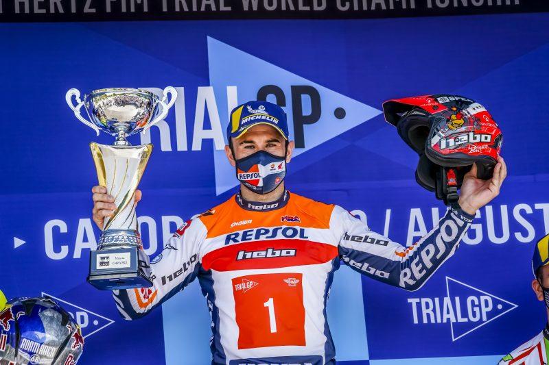 Toni Bou, más líder del Mundial tras el GP de Francia