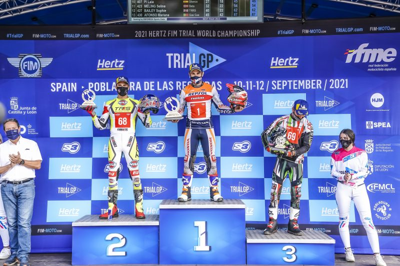 A win in Pobladura moves Toni Bou closer to a 15th TrialGP title