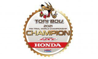 Toni Bou Trial Champion 2021-01