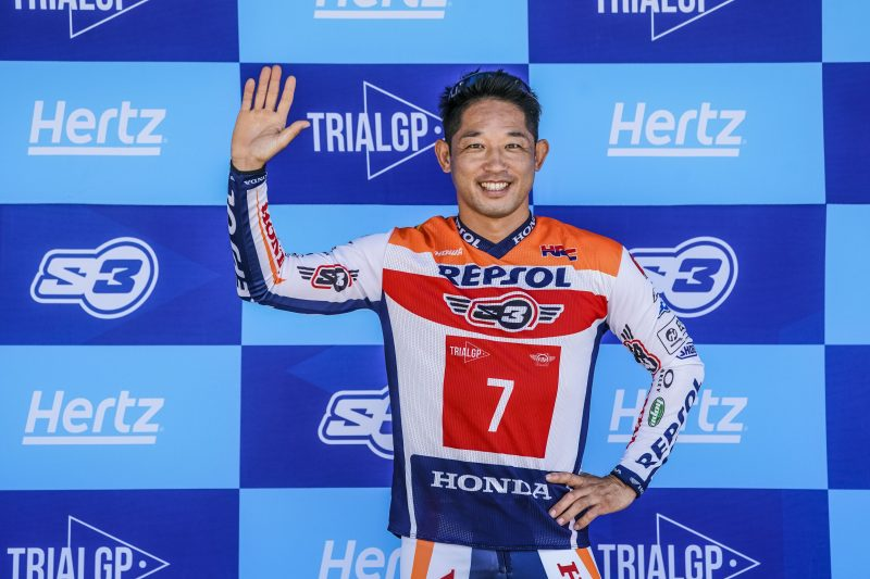 Takahisa Fujinami to bid farewell to the Trial World Championship this weekend in Portugal